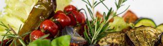 Gemüseplatte - vegetarisch