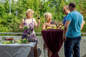 Catering für privates Sommerfest